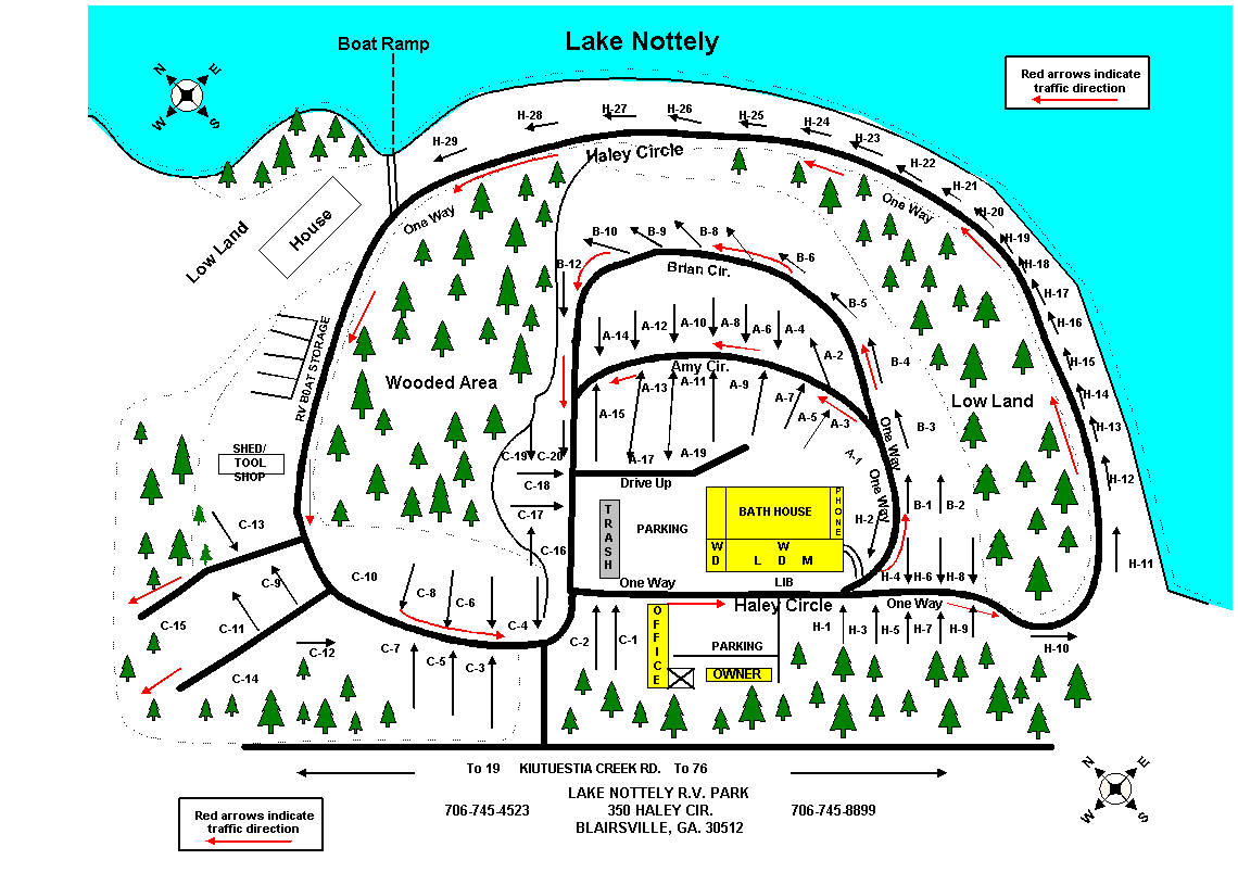 Lake Nottely RV Park :: Phone 706-745-4523
